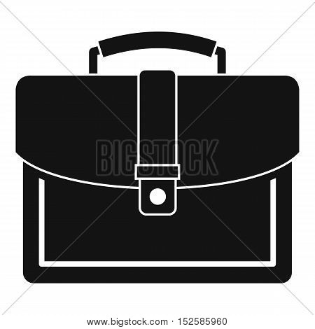 Business briefcase icon. Simple illustration of business briefcase vector icon for web