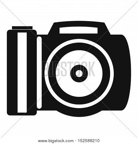 Camera icon. Simple illustration of camera vector icon for web