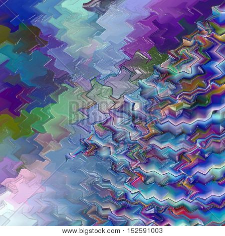 Abstract coloring background of the horizon gradient with visual pagecurl, lighting, wave and plastic wrap effects, good for your project design