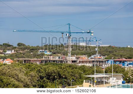 Heavy Construction Industry in the Curacao City