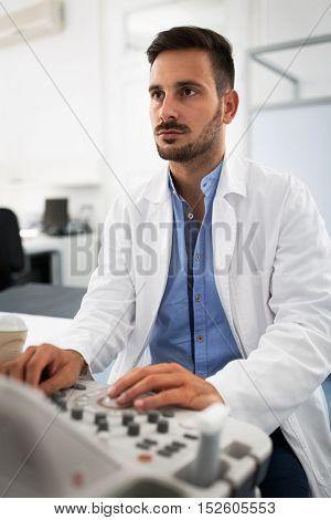 Gynecologist Clinic Examination