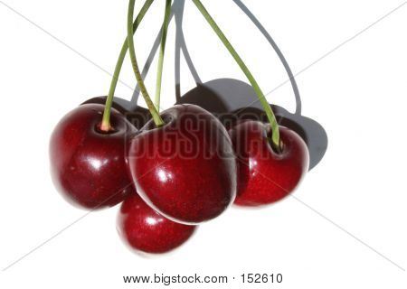 Four Cherries In The Sun