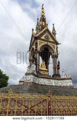 Prince Albert Memorial, London, England, Great Britain