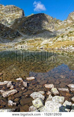Amazing Landscape of Elenski lakes, Rila Mountain, Bulgaria