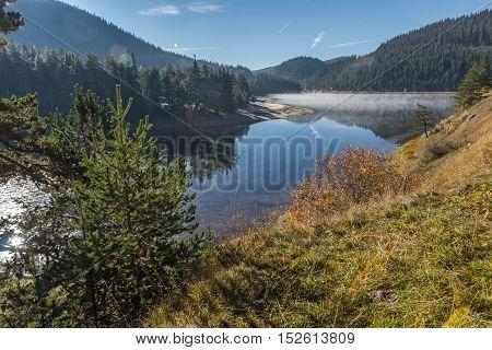 Panorama of Golyam Beglik Reservoir, Pazardzhik Region, Bulgaria