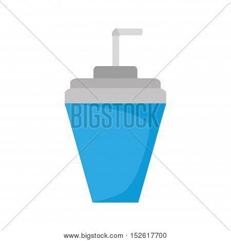 soda drink beverage isolated icon vector illustration design