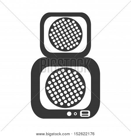 speaker sound device isolated icon vector illustration design