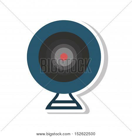 web camera device isolated icon vector illustration design