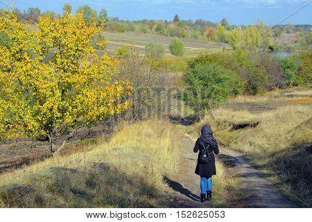 Towards The Autumn.