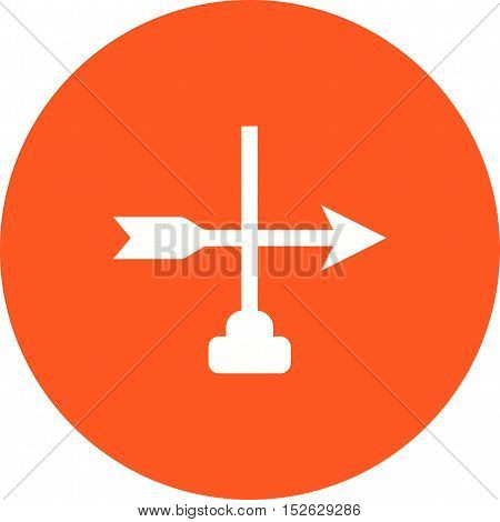 Farm, direction, windy icon vector image. Can also be used for farm. Suitable for mobile apps, web apps and print media.