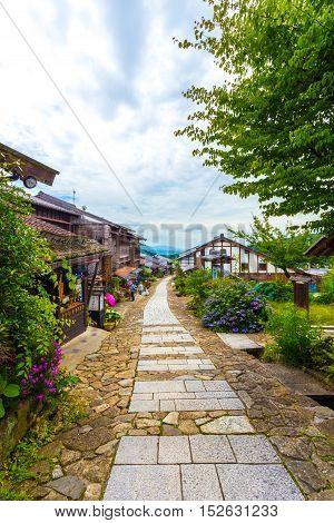 Tourist Restaurants Nakasendo Trail Magome V