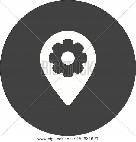 Location, gps, map icon vector image. Can also be used for web. Suitable for mobile apps, web apps and print media.