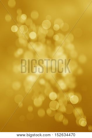 abstract background gold bokeh circles for your webdesign.