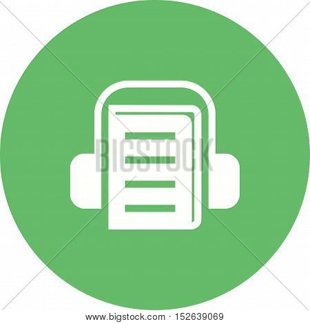 Online, webinar, lecture icon vector image. Can also be used for E Learning. Suitable for mobile apps, web apps and print media.