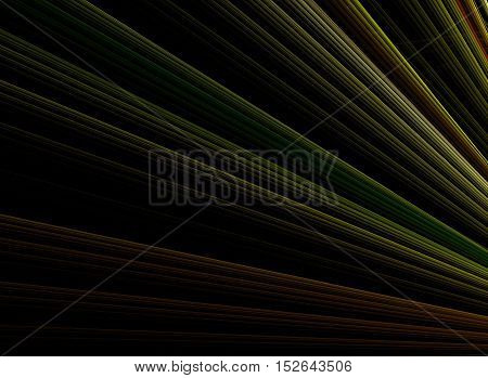 Abstract colorful stripe background. Modern abstract banner on dark background.