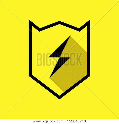High Voltage or Thunder or Lightning Logo Icon