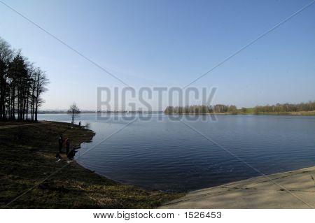 Water-Storage Reservoir Drozdy