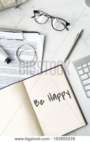 Be Happy Joyful Enjoyment Playful Happiness Lifestyle Concept