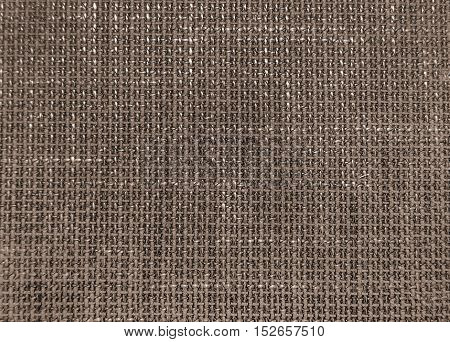 Natural linen texture as grey abstract background