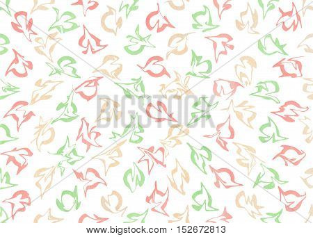 Watercolor Abstract Pattern.