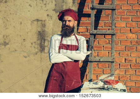 Man Chef With Crossed Hands