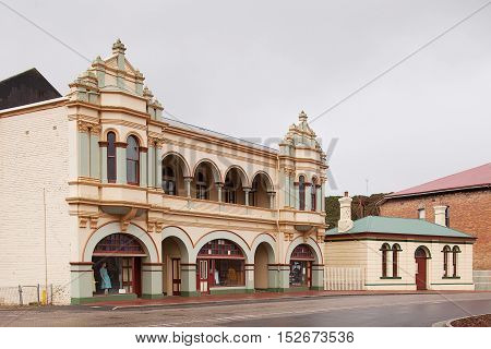 Main Street Zeehan Tasmania