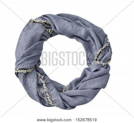 Scarf Isolated On White Back Ground