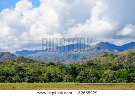 Jungle In Colombian Green Mountains, Colombia, Latin America
