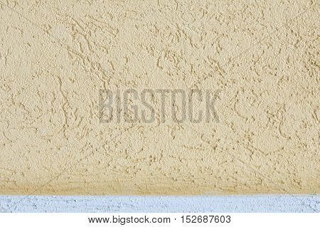 Texture, Pattern, Background. Plaster On The Wall. A Soft Mixture Of Lime With Sand Or Cement And Wa
