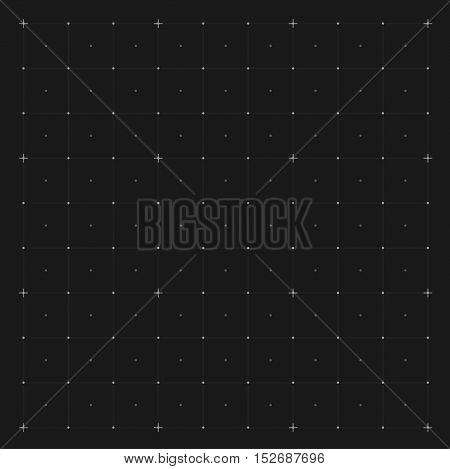 Vector abstract background. Grid on a blue background.