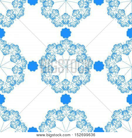 Creative patterned image in the form of square tiles(vector EPS 10)
