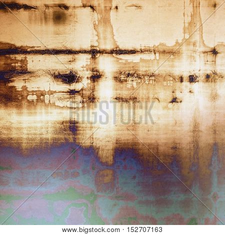 Retro design composition, grunge background or textured backdrop. With different color patterns: yellow (beige); brown; gray; green; blue; purple (violet)
