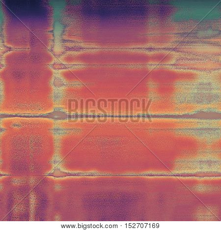 Vintage background - dirty ancient texture. Antique grunge backdrop with different color patterns: yellow (beige); brown; green; red (orange); purple (violet); pink