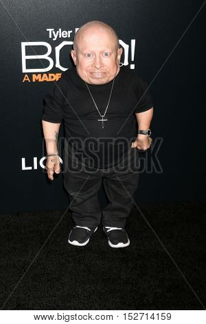 LOS ANGELES - OCT 17:  Verne Troyer at the