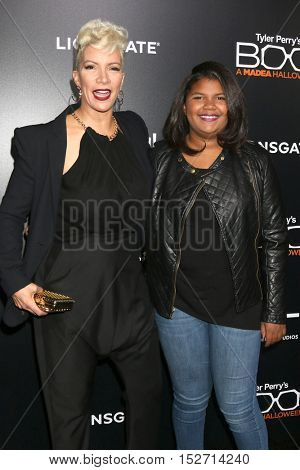 LOS ANGELES - OCT 17:  Rebecca Crews, daughter at the
