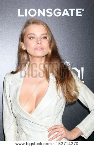 LOS ANGELES - OCT 17:  Tanya Mityushina at the