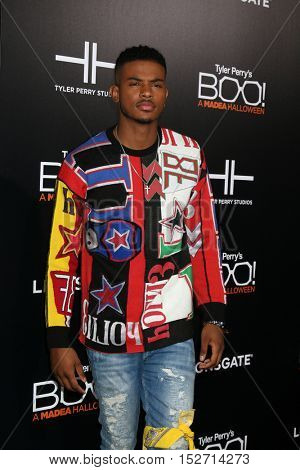 LOS ANGELES - OCT 17:  Trevor Jackson at the