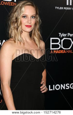 LOS ANGELES - OCT 17:  Danielle Savre at the