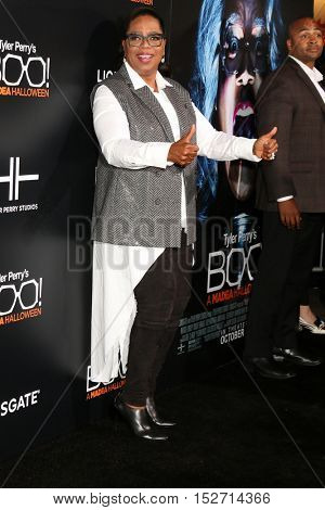 LOS ANGELES - OCT 17:  Oprah Winfrey at the