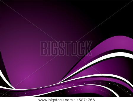 purple and black background with plenty of room for your own copy