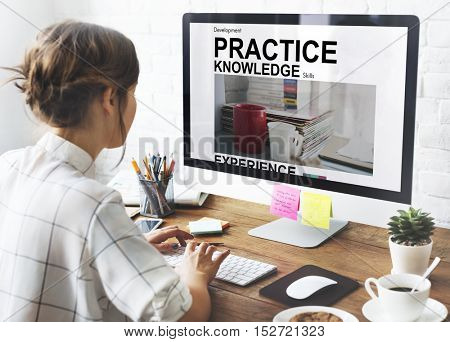Practice Learning Knowledge Study Concept