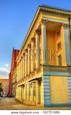 Wroclaw Opera House in Poland, Lower Silesia