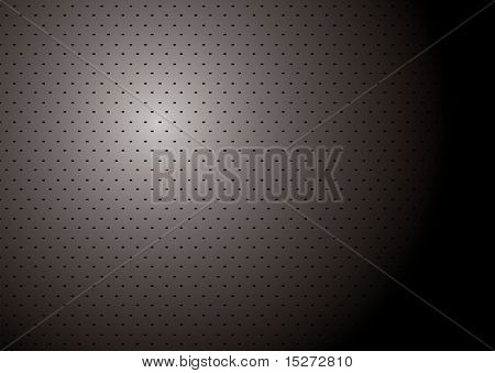 Silver and black metallic background with copy space