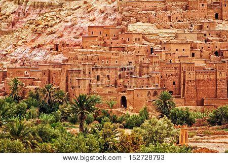Ait Benhaddou Clay Kasbah Town, Morocco