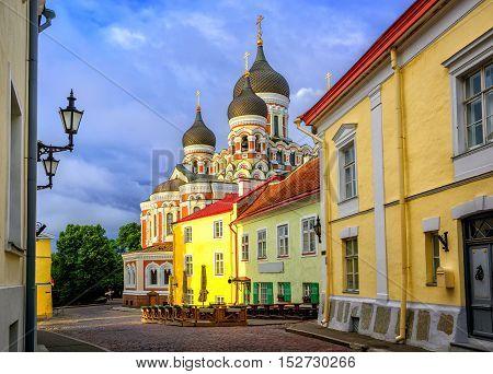 Alexander Nevsky Cathedral, Tallinn Old Town, Estonia