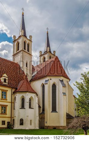 Goss Abbey is a former Benedictine nunnery in Leoben Styria Austria. Abbey church exterior