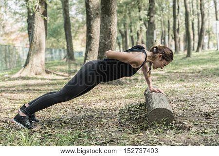 One-arm Push-ups
