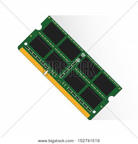 Random Access Memory Concept By Ram Labtop 4Gb Or 8Gb Or 16Gb
