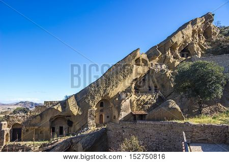 David Gareja Monastery Complex, Georgia. Kakheti. Sights Of Georgia, 18 Octomber, 2016