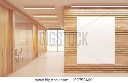 Meeting Rooms And Sunlit Corridor